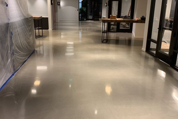 Makers Point – Polished Concrete